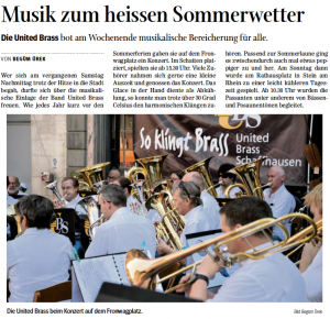 SN United Brass Schaffhausen