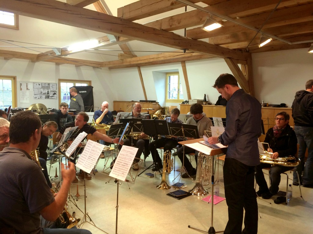 Sonntagsprobe United Brass Schaffhausen