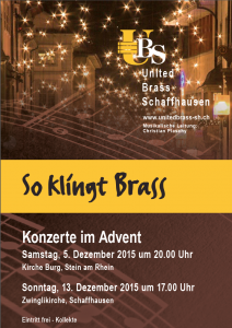 KonzerteAdvent United Brass SH